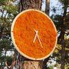 원목 스칸디아모스 벽시계(30cm)-어텀