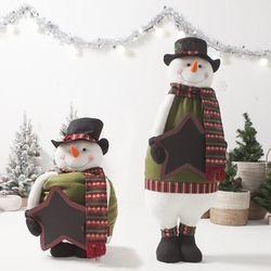 키크는 칠판눈사람105cm 트리 크리스마스 인형 TRDOLC