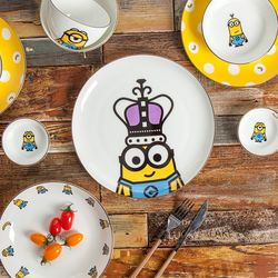 미니언즈 디너세트 12P(골드에디션) 식기 접시 추카