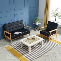 데코 원룸 사무실 거실 1인용 2인용 테이블 세트
