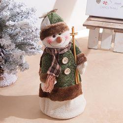 눈사람 스프링인형 35cm 트리 크리스마스 인형 TRDOLC