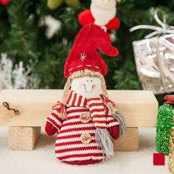 노블 레드 인형 19cm 트리 크리스마스 인형 TRDOLC