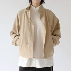 cozy wear button jacket (2colors)