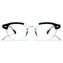 BVH 안경 BETHEL CRYSTAL BLACK