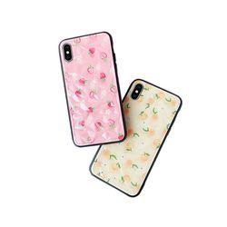아이폰6S 상큼 과일 디자인 하드 케이스 P316