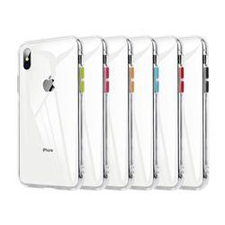 아이폰7 크리스탈 클리어 커버 젤리 케이스 P280