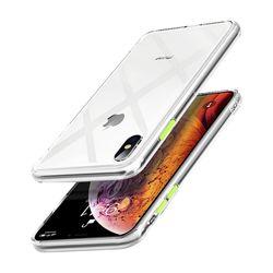 아이폰8 크리스탈 클리어 커버 젤리 케이스 P280