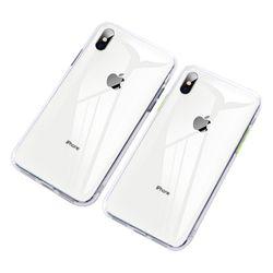 [9/19 아이폰11카테고리수정필수] 아이폰XR 크리스탈 클리어 커버 젤리 케이스 P280
