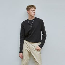 CLEAN BASIC KNIT BLACK