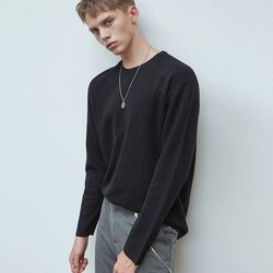 SOFT ROUND T-SHIRTS BLACK
