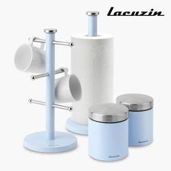 카운터탑 스토리지 4종세트 블루 LCZW1499BL