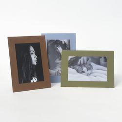 컬러 스탠딩 페이퍼프레임 - 4x6 클래식컬 5매