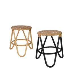 rainbow rattan stool(레인보우 라탄 스툴)