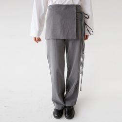 urban strap forming pants (gray)