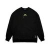 ART OVERSIZED HEAVY SWEAT CREWNECK BLACK