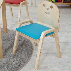 토리 원목 어린이 쿠션의자 4단계 높이조절