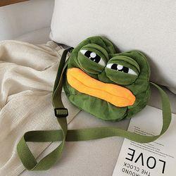 어딘가 슬픈 개구리 크로스백