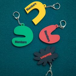 Blankers Cut off Key ring (4color)