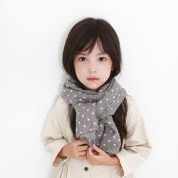마카롱 아동 스카프
