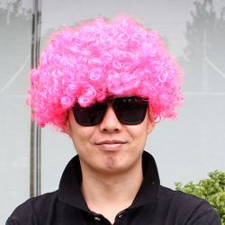 파티용 뽀글이 가발(칼라)