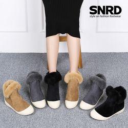 [SNRD] 겨울신발 털부츠 여성부츠 방한화 키높이 SN521.