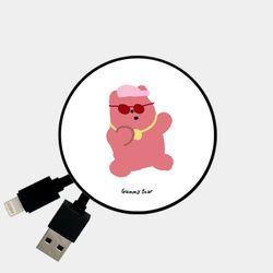 hiphop gummy 핑크 [Smart Reel]