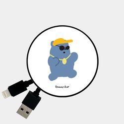 hiphop gummy 블루 [Smart Reel]