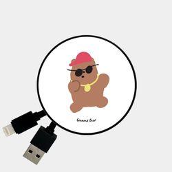 hiphop gummy 브라운 [Smart Reel]