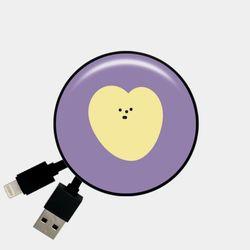 heart 심플 옐로 [Smart Reel]