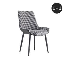 리오버 디자인 의자 1세트-2개