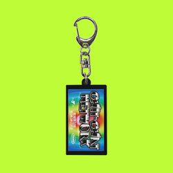 ACRYLIC KEY HOLDER CHIT CHAT