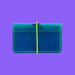 BAND CARD WALLET CCN NEON BLUE
