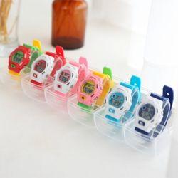 토이 디지털 손목시계