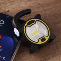 파워킹 COB LED 캠핑랜턴(블랙)