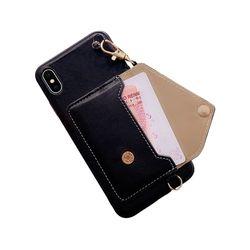 아이폰6S 스티치 라인 지갑 가죽 케이스 P285