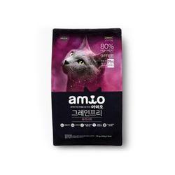 고양이사료 아미오 캣 그레인프리 유리너리 1.8kg