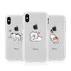[T]뚱냥이 투명 젤리 케이스.아이폰5S(SE)