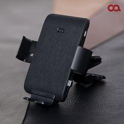 오아 와이더F3 FOD센서 차량용 핸드폰 고속 무선 충전 거치대