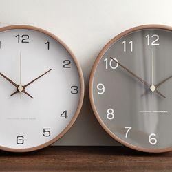 300파이 우드벽시계(2color)