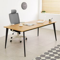 철제 책상테이블 1800x600 디자인프레임