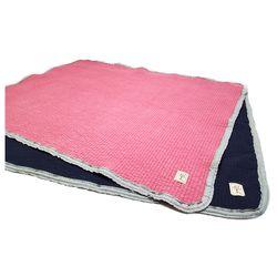 사랑나무  레이스 유아 피그먼트 이불  패드  꽃분홍 곤색