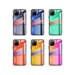 아이폰7플러스 그라데이션 강화 하드 케이스 P321