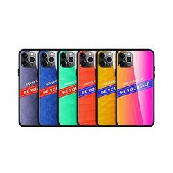 아이폰8플러스 그라데이션 강화 하드 케이스 P321