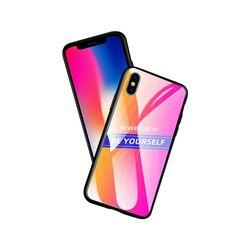 아이폰6S 그라데이션 강화 하드 케이스 P321