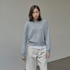 SOFT TOUCH WOOL KNIT GRAY