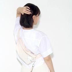 waist bag - beige