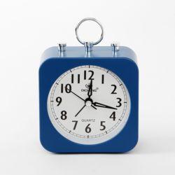 퀴리 무소음 알람 탁상시계(블루)