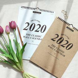 2020 워너디스 클래식 월 캘린더(A4)