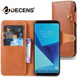 데켄스 M522 갤럭시 다이어리 가죽 커버 휴대폰 케이