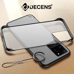 데켄스 M601 갤럭시 클리어 투명 링 휴대폰 케이스